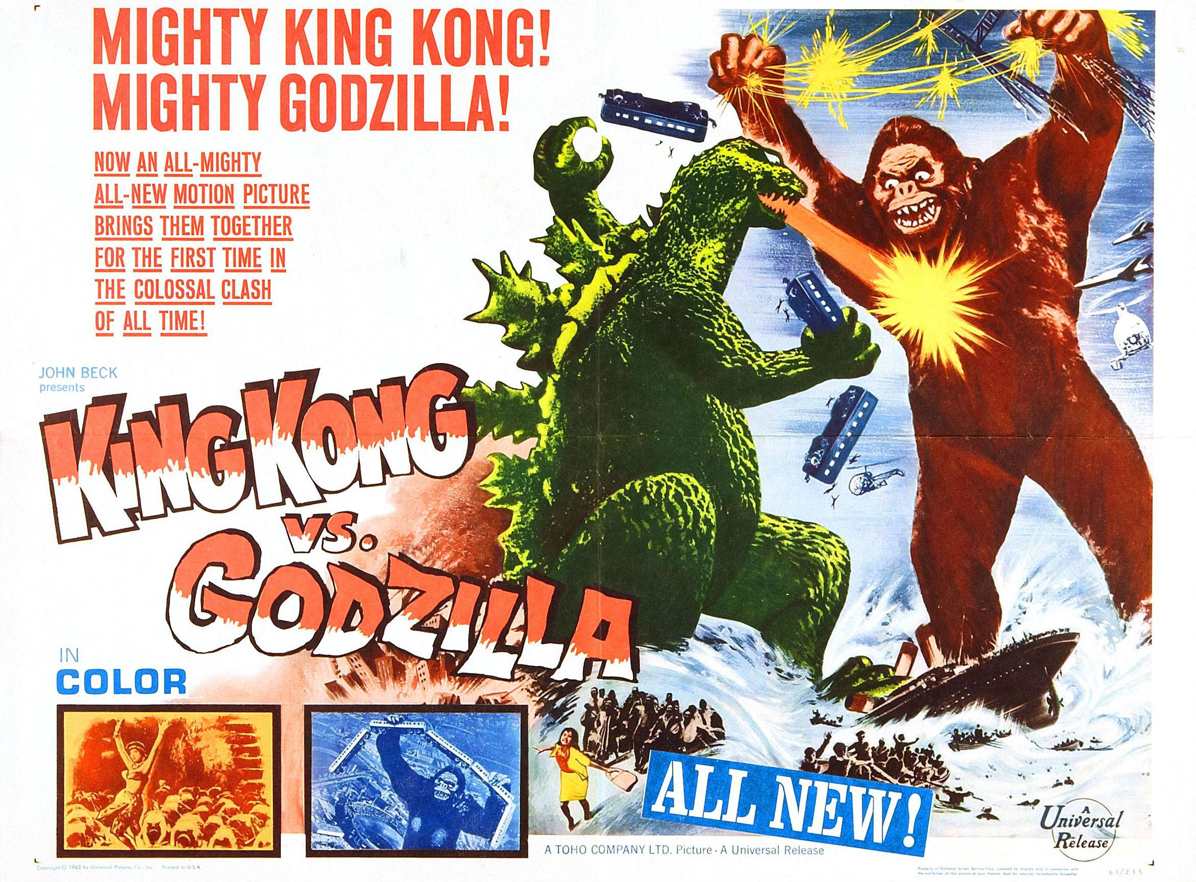 2 King Kong Vs Godzilla Hd Wallpapers  Backgrounds - Wallpaper Abyss-8985
