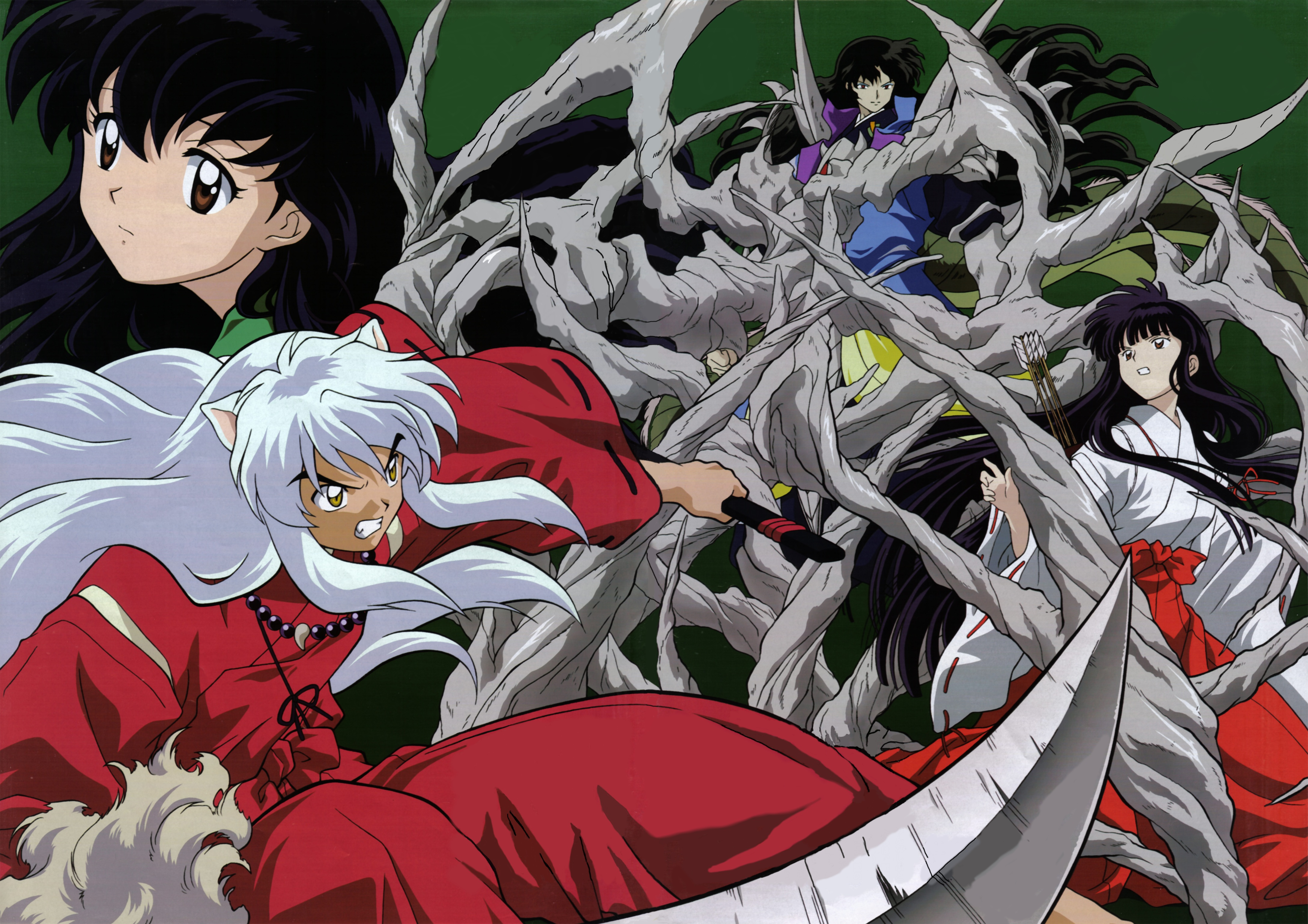 InuYasha 4k Ultra HD Wallpaper And Background