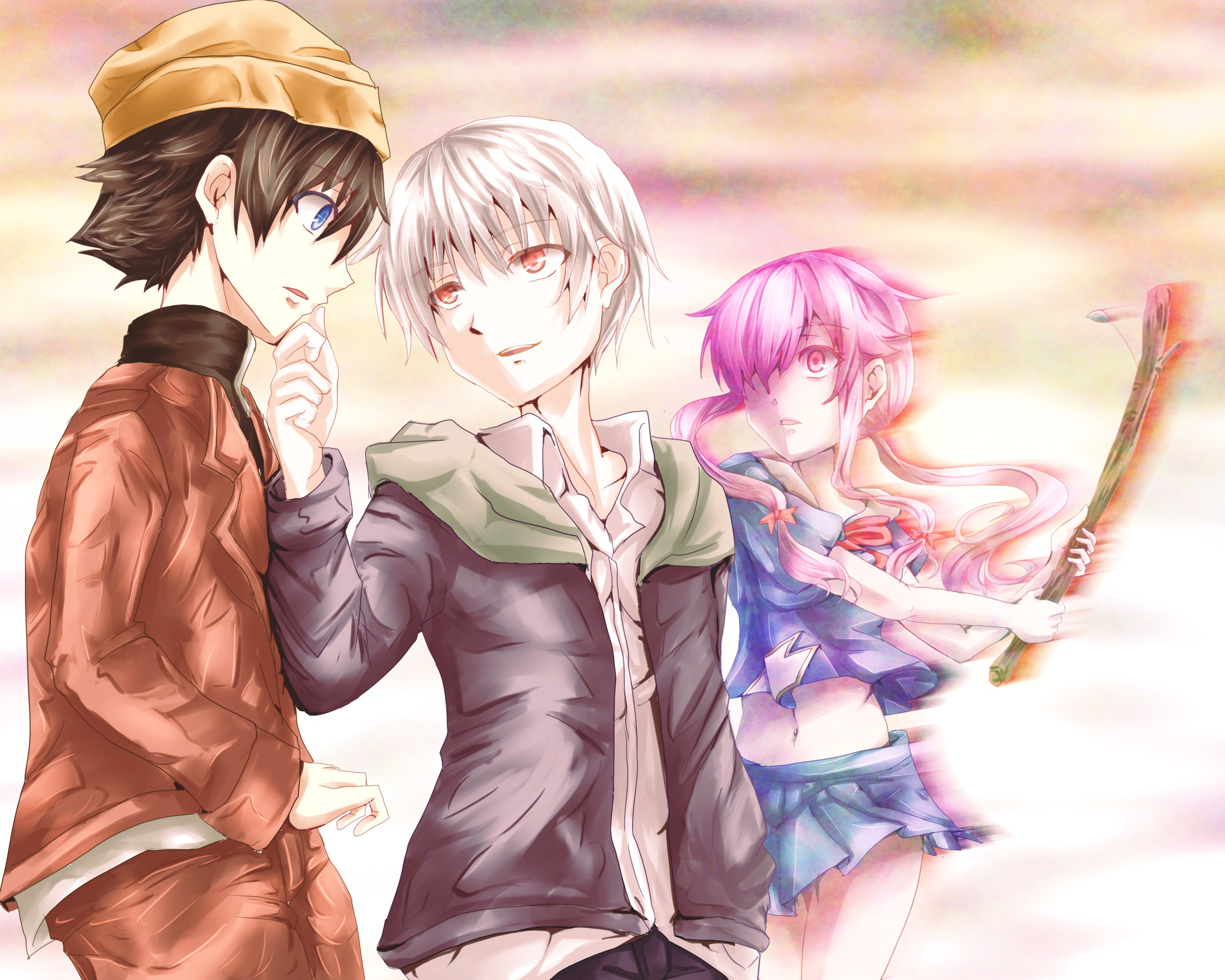 Future Diary Wallpaper: Mirai Nikki Full HD Wallpaper And Background Image