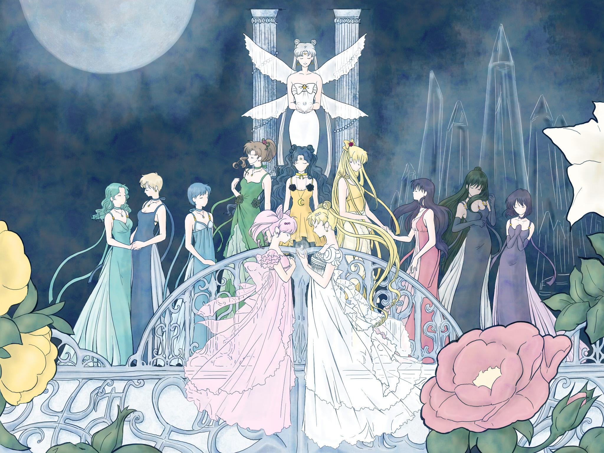 213 Sailor Moon HD Wallpapers | Backgrounds - Wallpaper ...