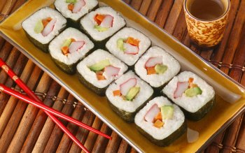 Alimento - Sushi Wallpapers and Backgrounds ID : 228703
