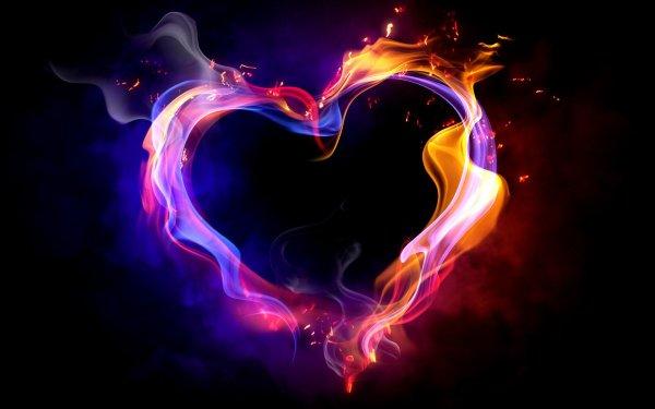 Artistic Love Heart HD Wallpaper | Background Image