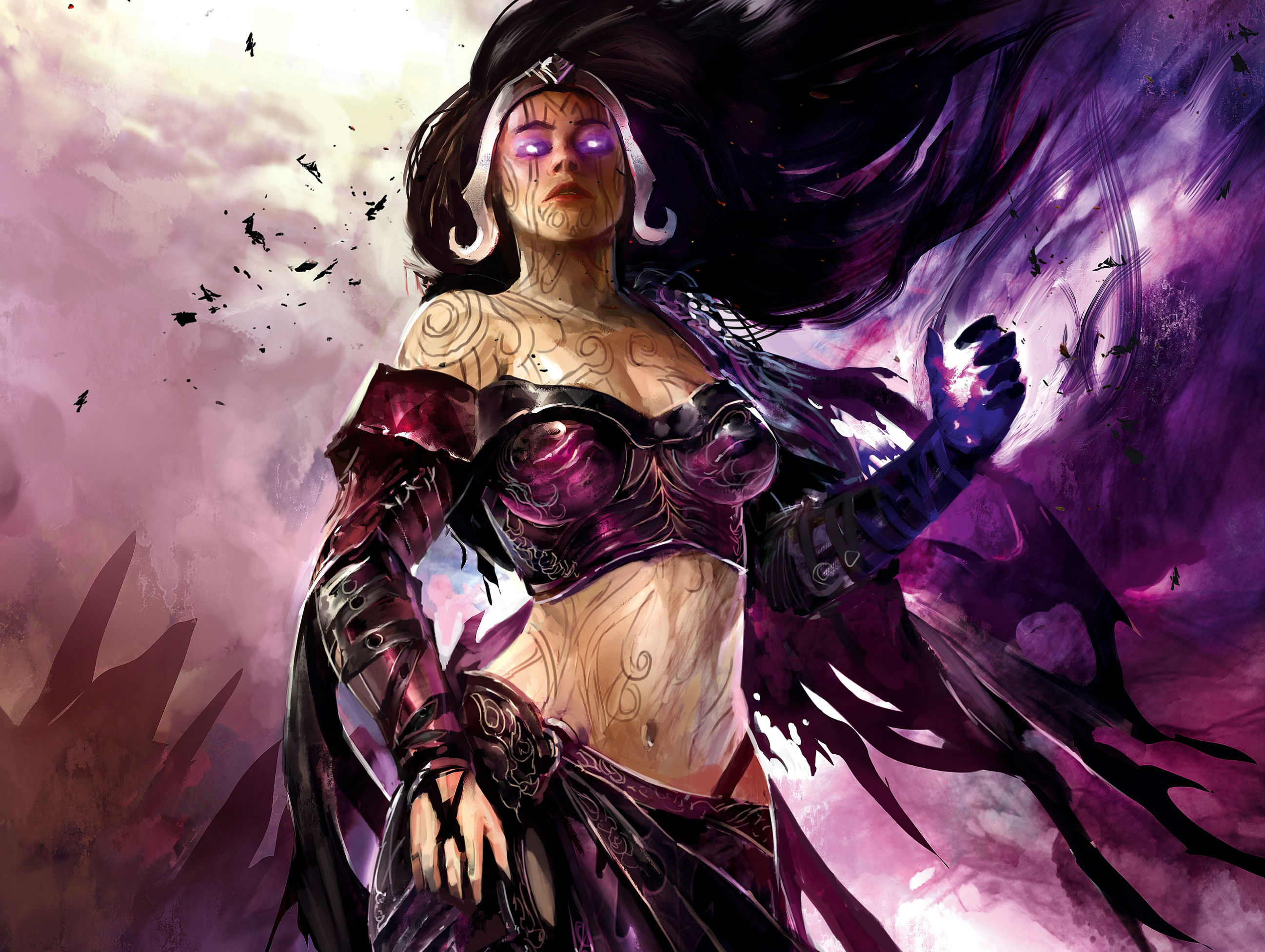 Liliana Vess Is A Human Planeswalker And Master Of Necromancy Hd