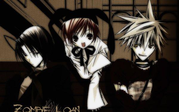 Anime Zombie-Loan Chika Akatsuki Shito Tachibana Yuuta HD Wallpaper | Background Image