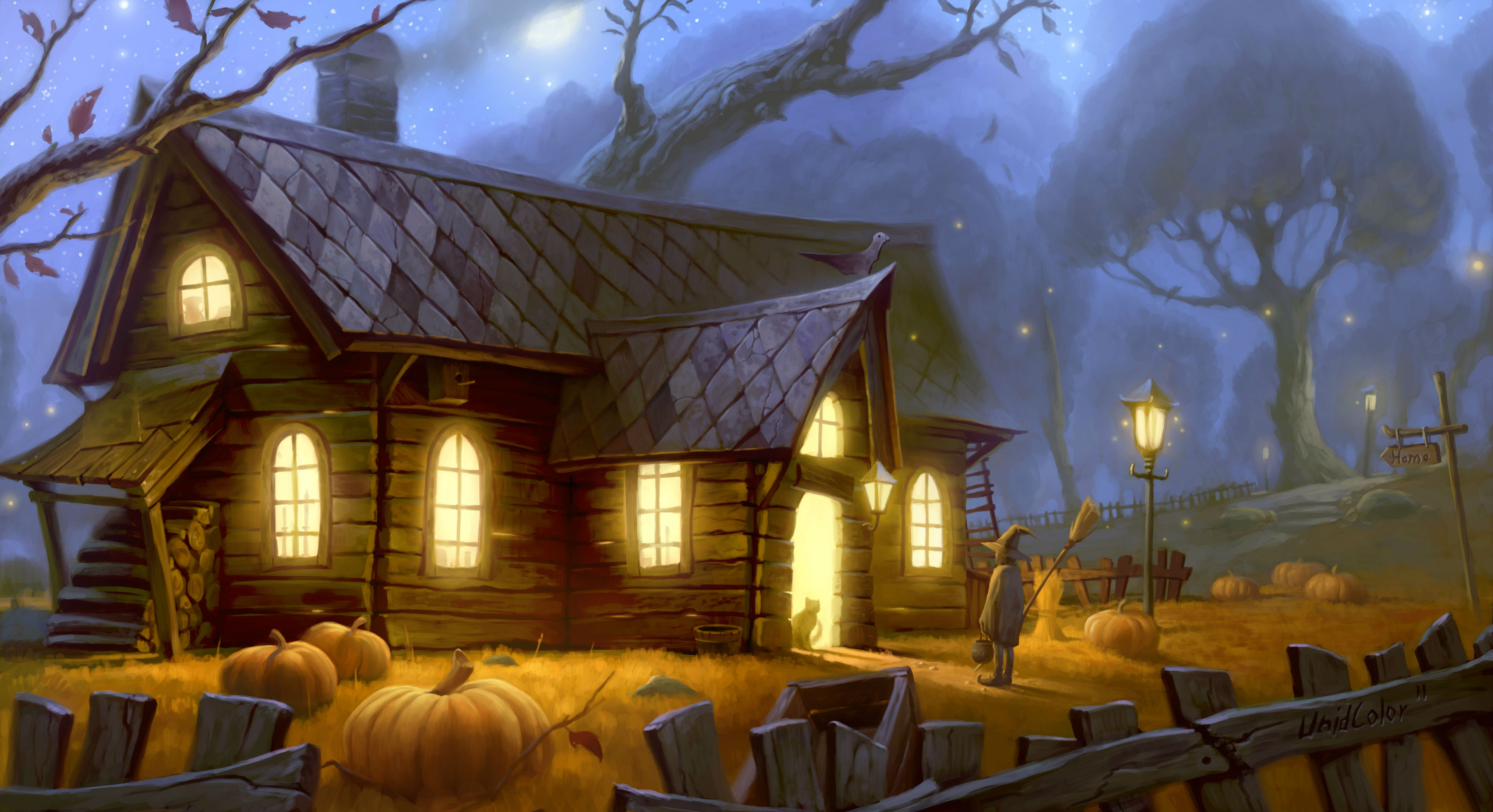 7 Halloween HD Wallpapers | Background Images - Wallpaper Abyss
