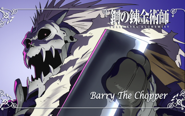 Anime FullMetal Alchemist Fullmetal Alchemist Barry the Chopper HD Wallpaper | Background Image