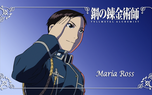 Anime FullMetal Alchemist Fullmetal Alchemist Maria Ross HD Wallpaper | Background Image