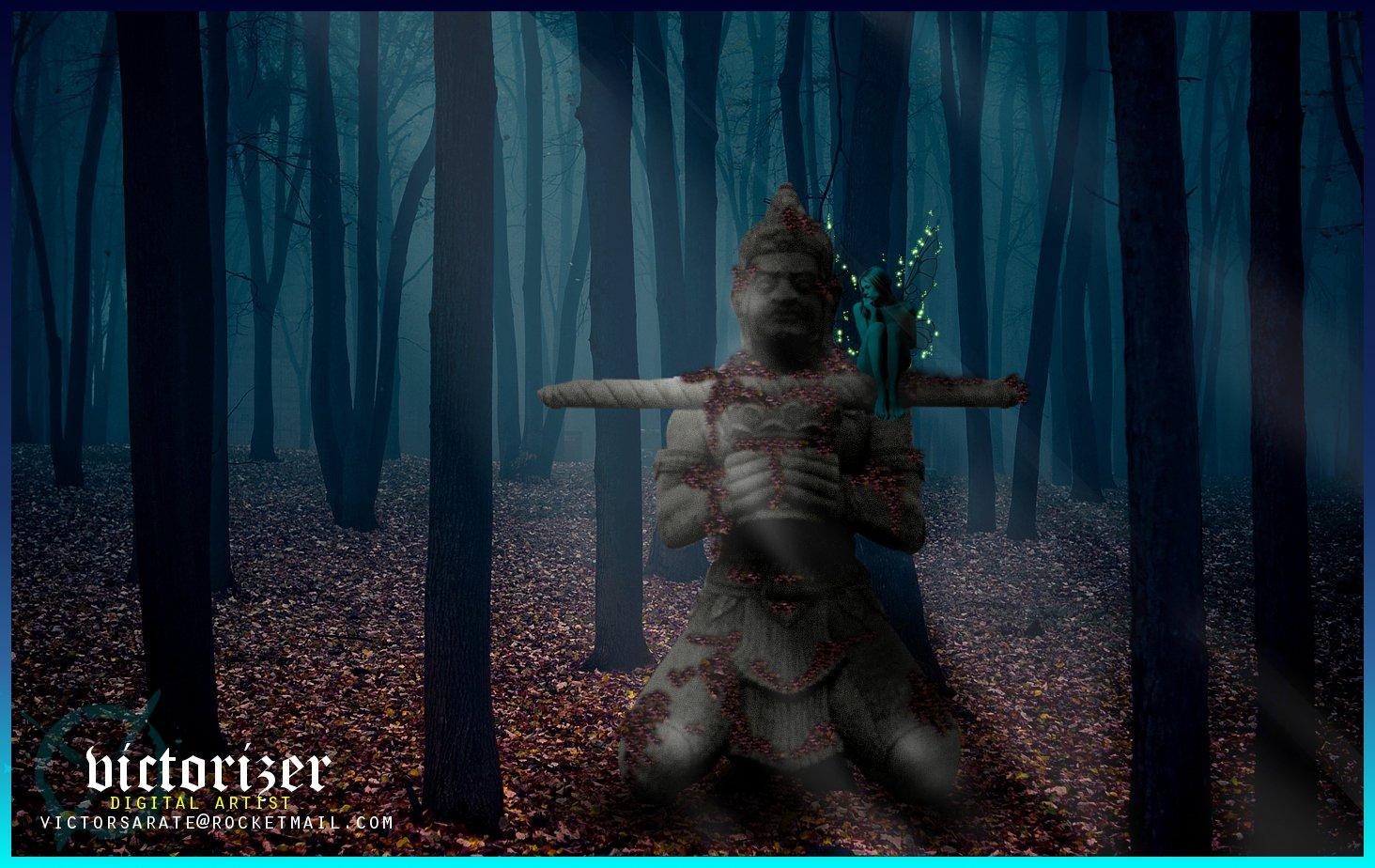 Fantasy - Forest  Fantasy Wallpaper