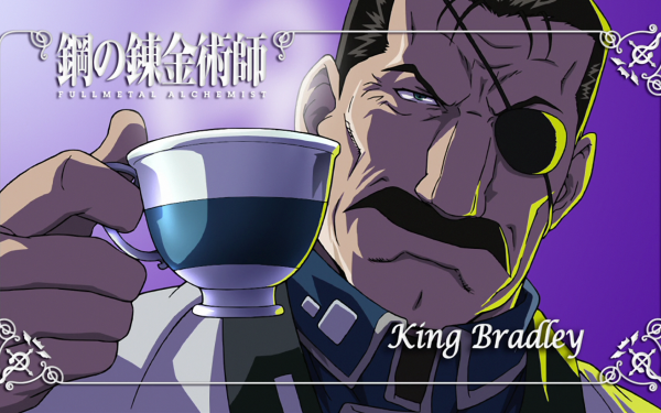 Anime FullMetal Alchemist Fullmetal Alchemist King Bradley Wrath HD Wallpaper | Background Image