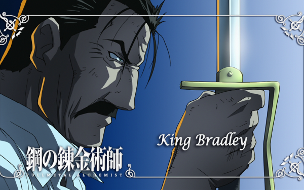 Anime FullMetal Alchemist Fullmetal Alchemist Wrath King Bradley HD Wallpaper | Background Image