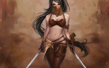 Fantasy - Women Warrior Wallpapers and Backgrounds ID : 232253