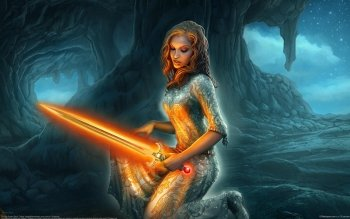 Fantasy - Women Warrior Wallpapers and Backgrounds ID : 232971