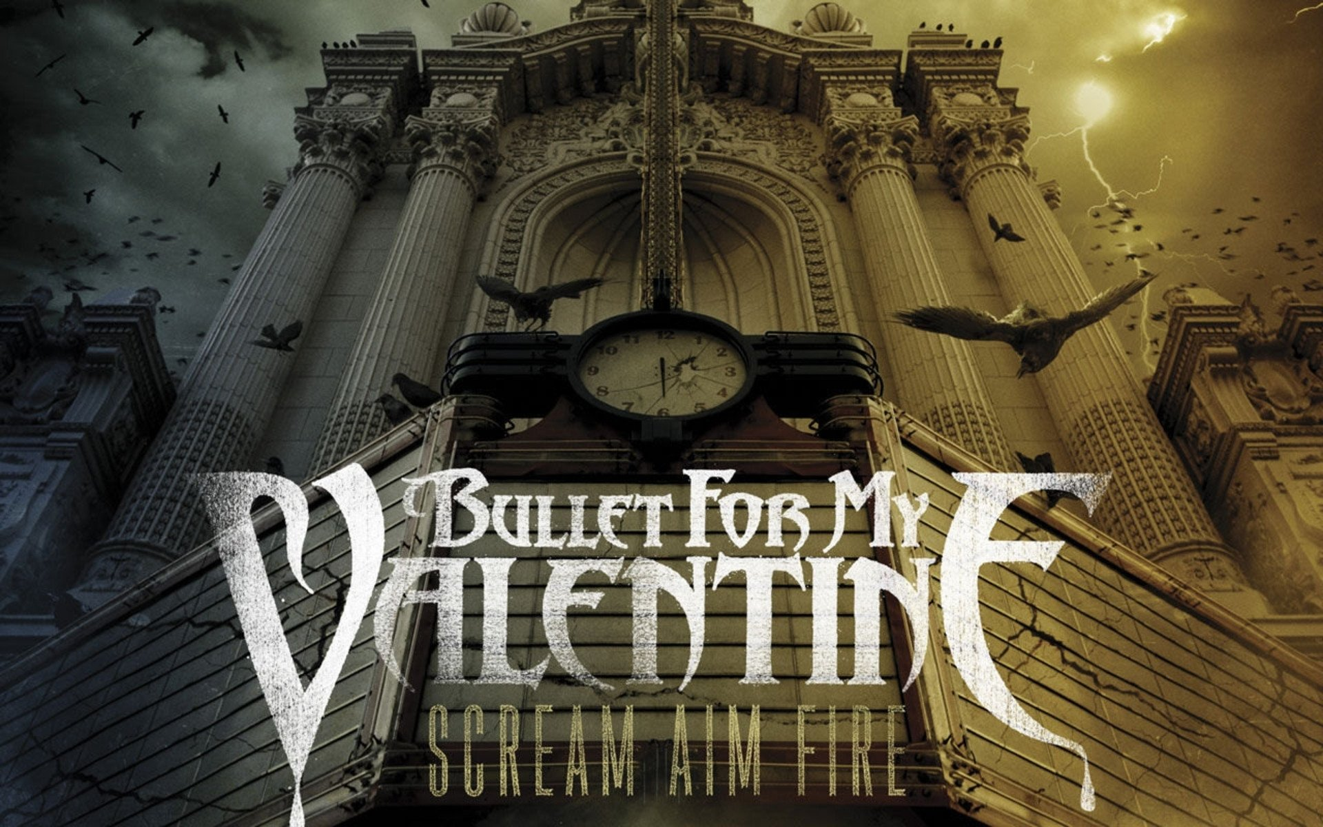 17 Bullet For My Valentine Hd Wallpapers Background Images