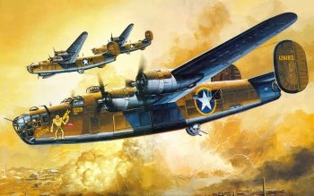 Militär - Consolidated B-24 Liberator Wallpapers and Backgrounds ID : 233811
