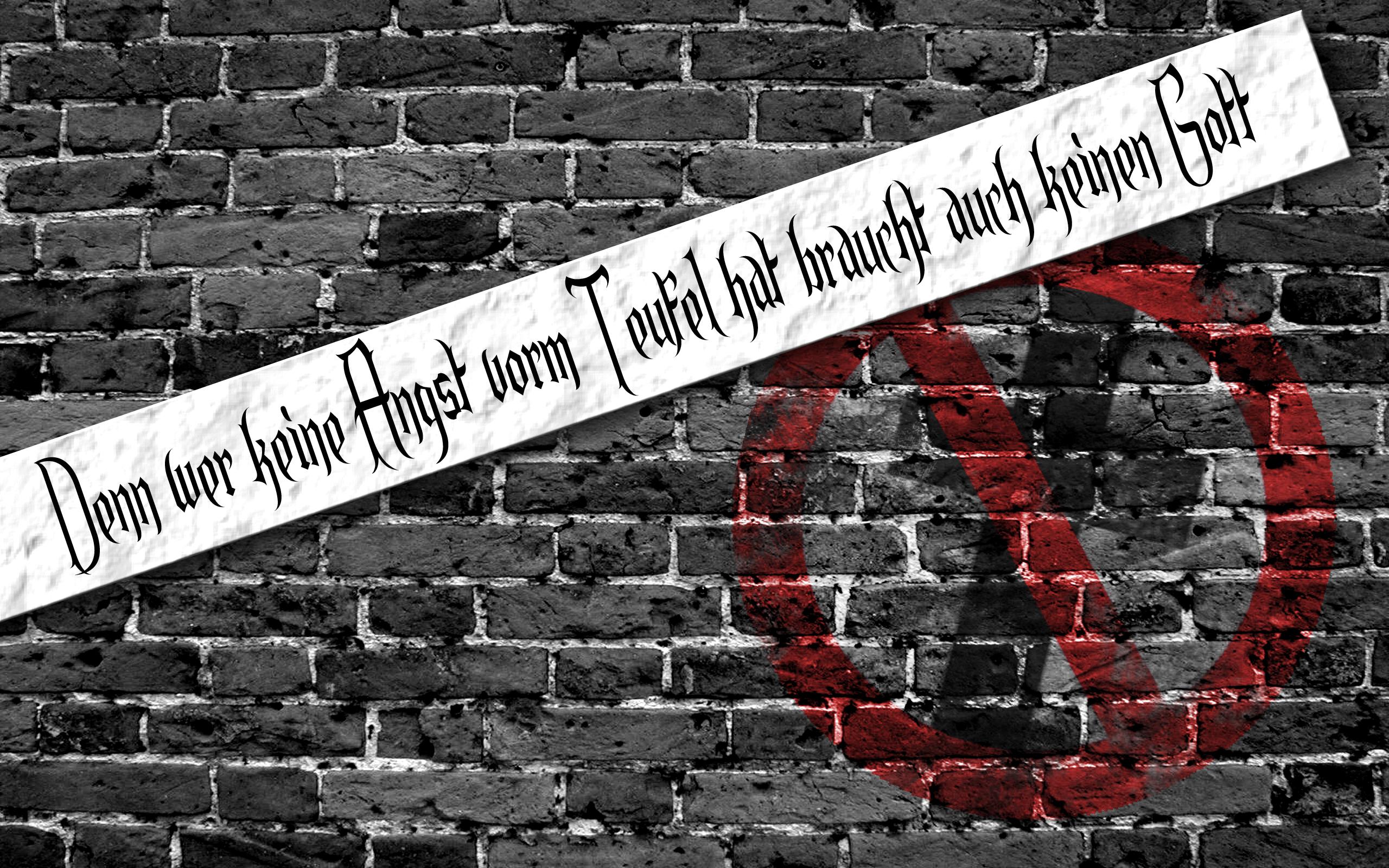Anti Religious HD Wallpaper