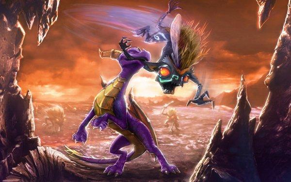 Video Game The Legend of Spyro: Dawn of the Dragon Dragon Cute Spyro HD Wallpaper | Background Image