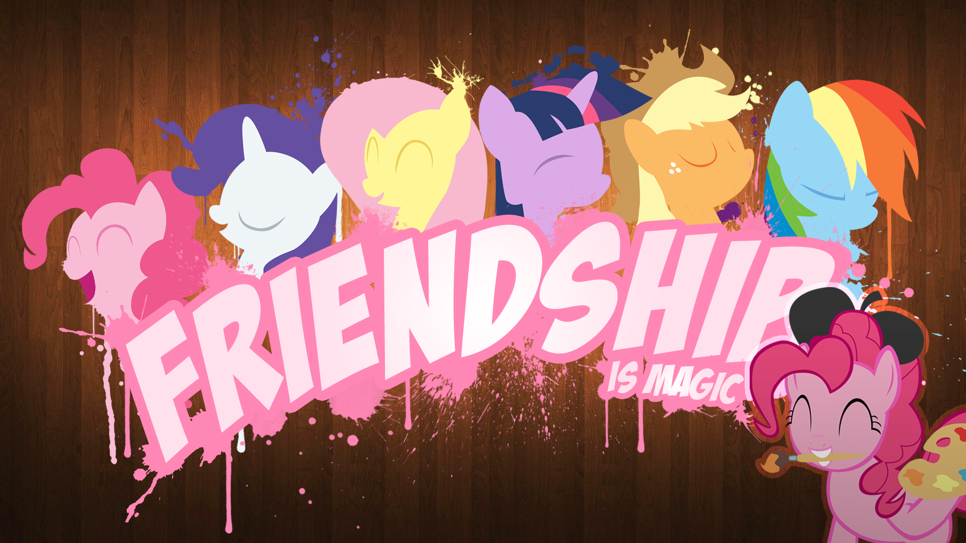 Friendship Is Magic Wallpaper Hd Wallpaper Background Image