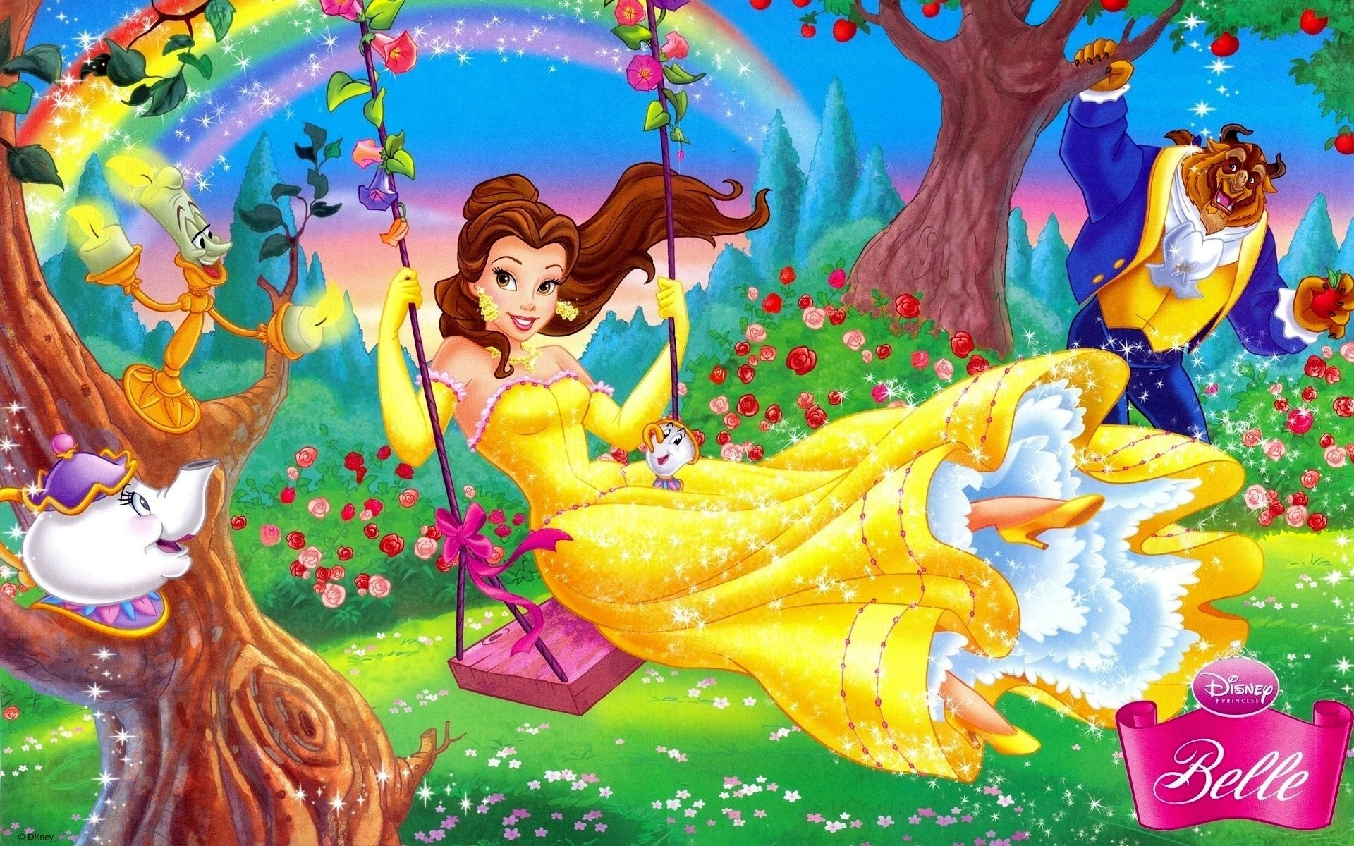 Beauty And The Beast Hd Wallpaper Background Image 1920x1200