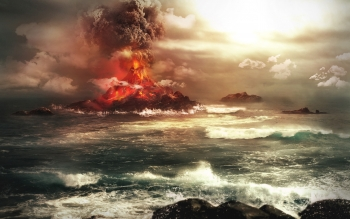 Earth - Volcano Wallpapers and Backgrounds ID : 239841