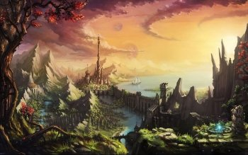 Fantasy - Landscape Wallpapers and Backgrounds ID : 239871