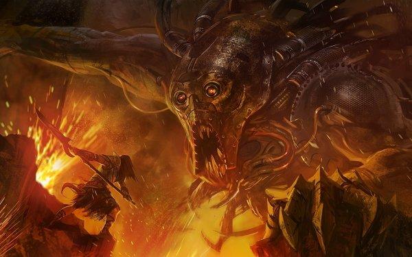 Fantasy Battle HD Wallpaper | Background Image