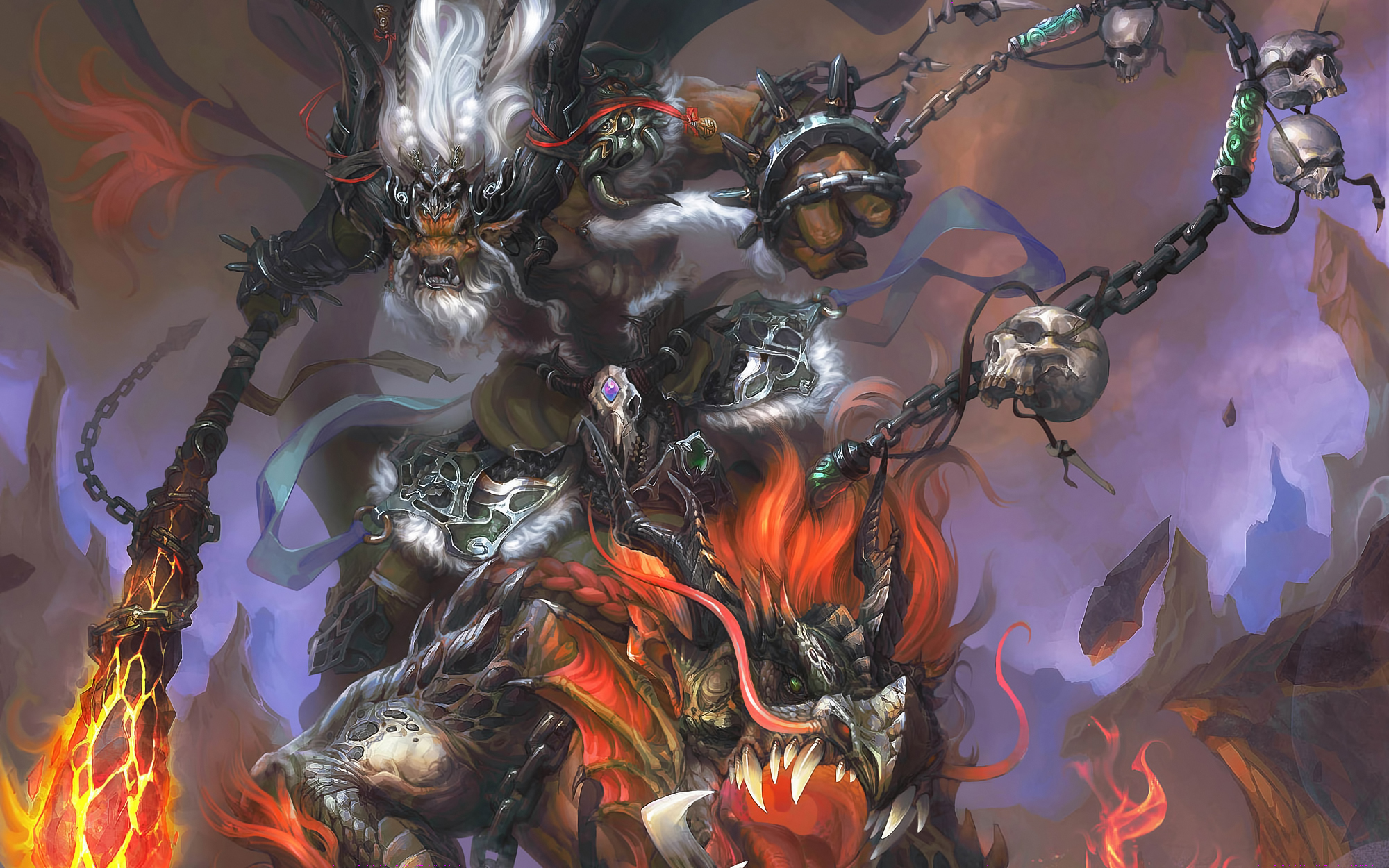 Downaload Overlord King And Warriors Art Wallpaper: Bull King Full HD Wallpaper And Background