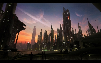 Sci Fi - City Wallpapers and Backgrounds ID : 240683