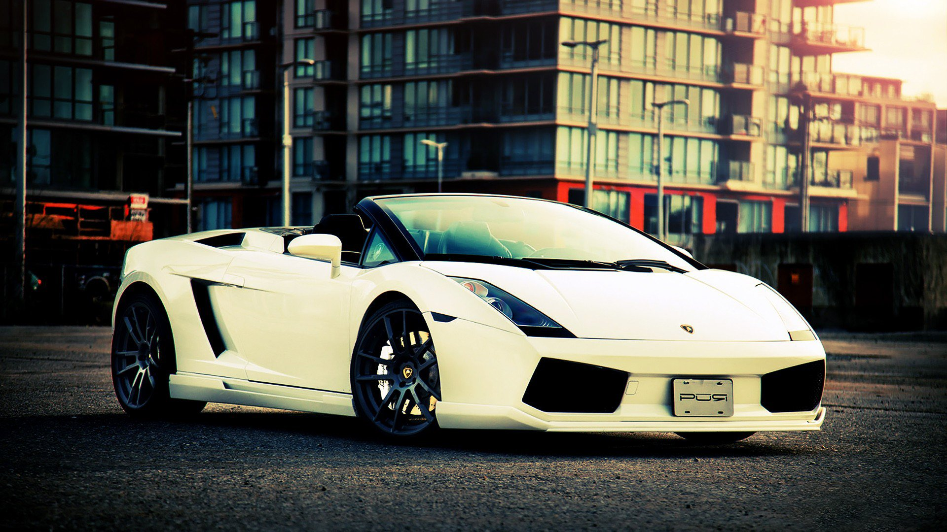 Lamborghini Gallardo LP 550 2 Spyder HD Wallpaper