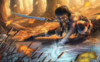 Fantasy - Women Warrior Wallpapers and Backgrounds ID : 241603
