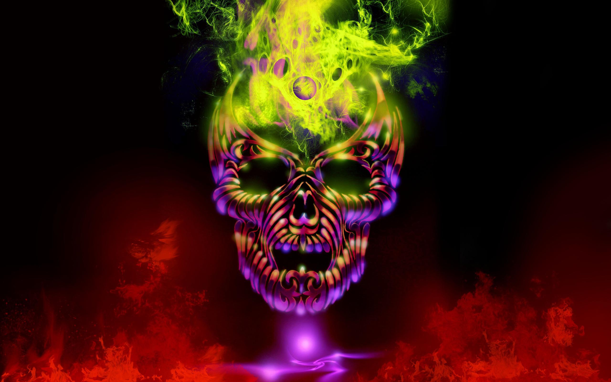 download wallpapers 2560x1600 skulls - photo #25