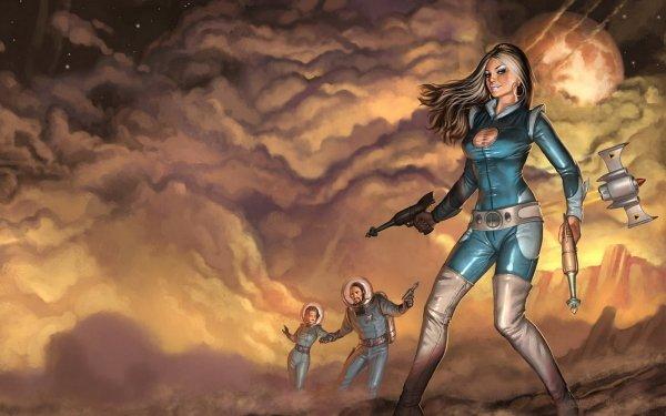 Sci Fi Women HD Wallpaper   Background Image