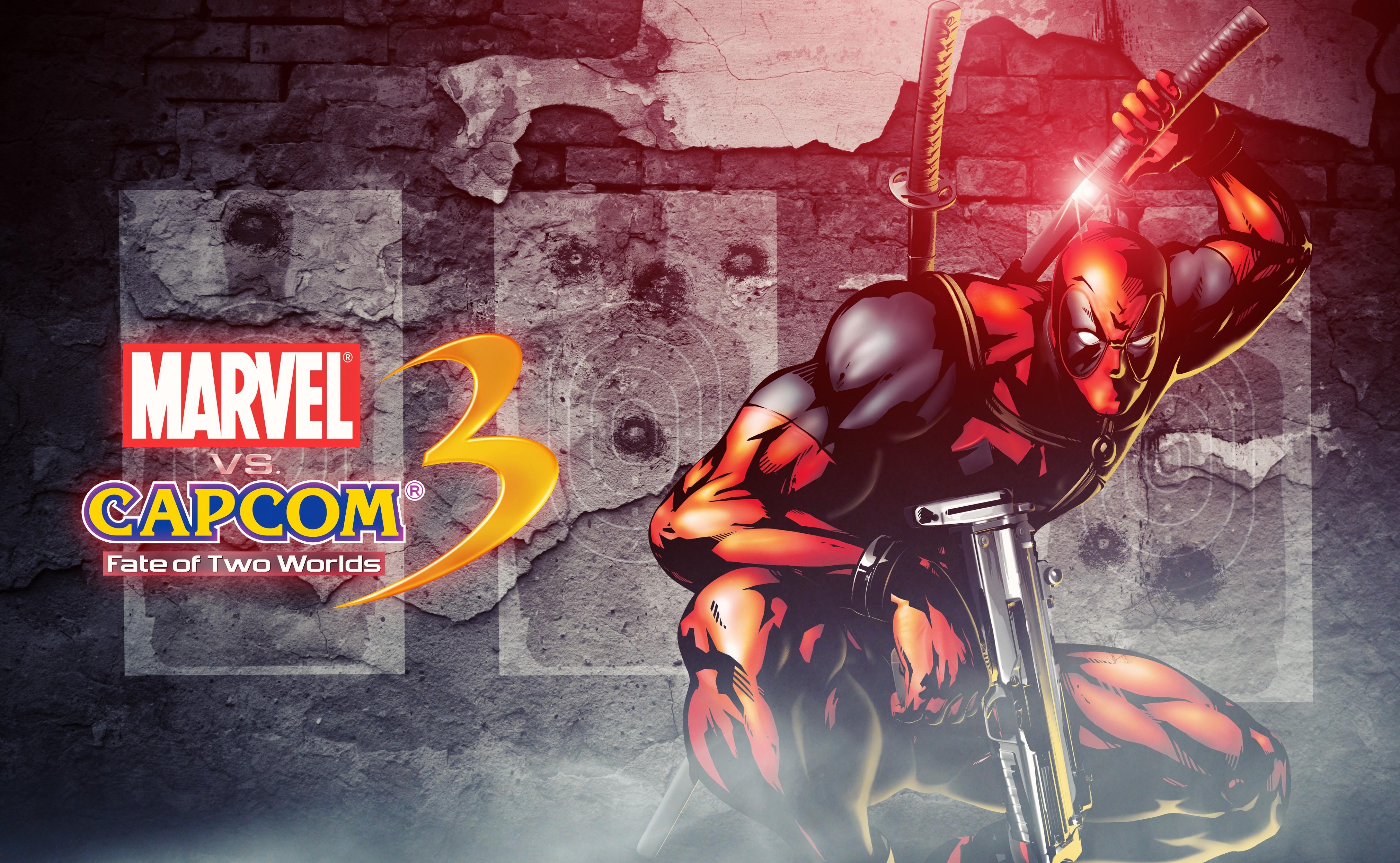 Marvel Vs Capcom 3 Fate Of Two Worlds 4k Ultra Hd Wallpaper