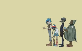 Musik - Gorillaz Wallpapers and Backgrounds ID : 243893