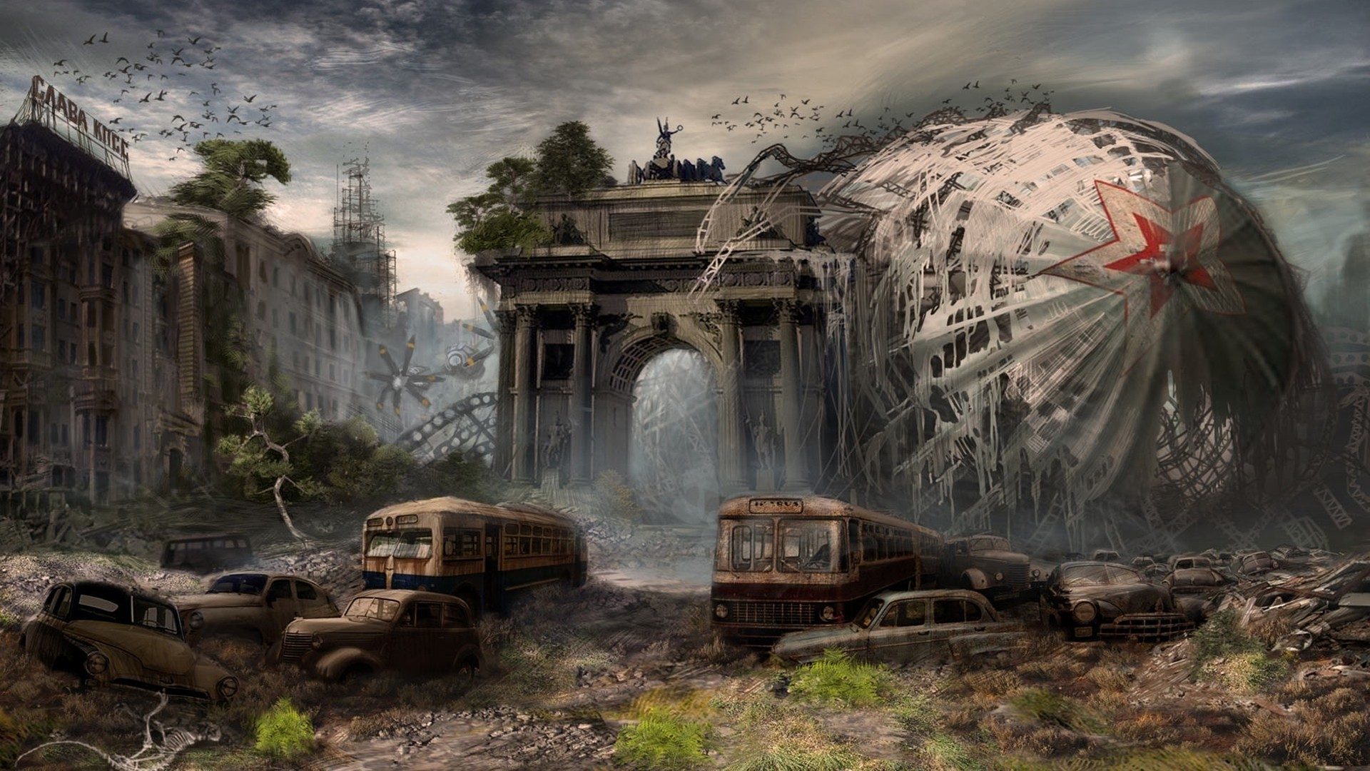 Post apocalyptic computer wallpapers desktop backgrounds 1920x1080