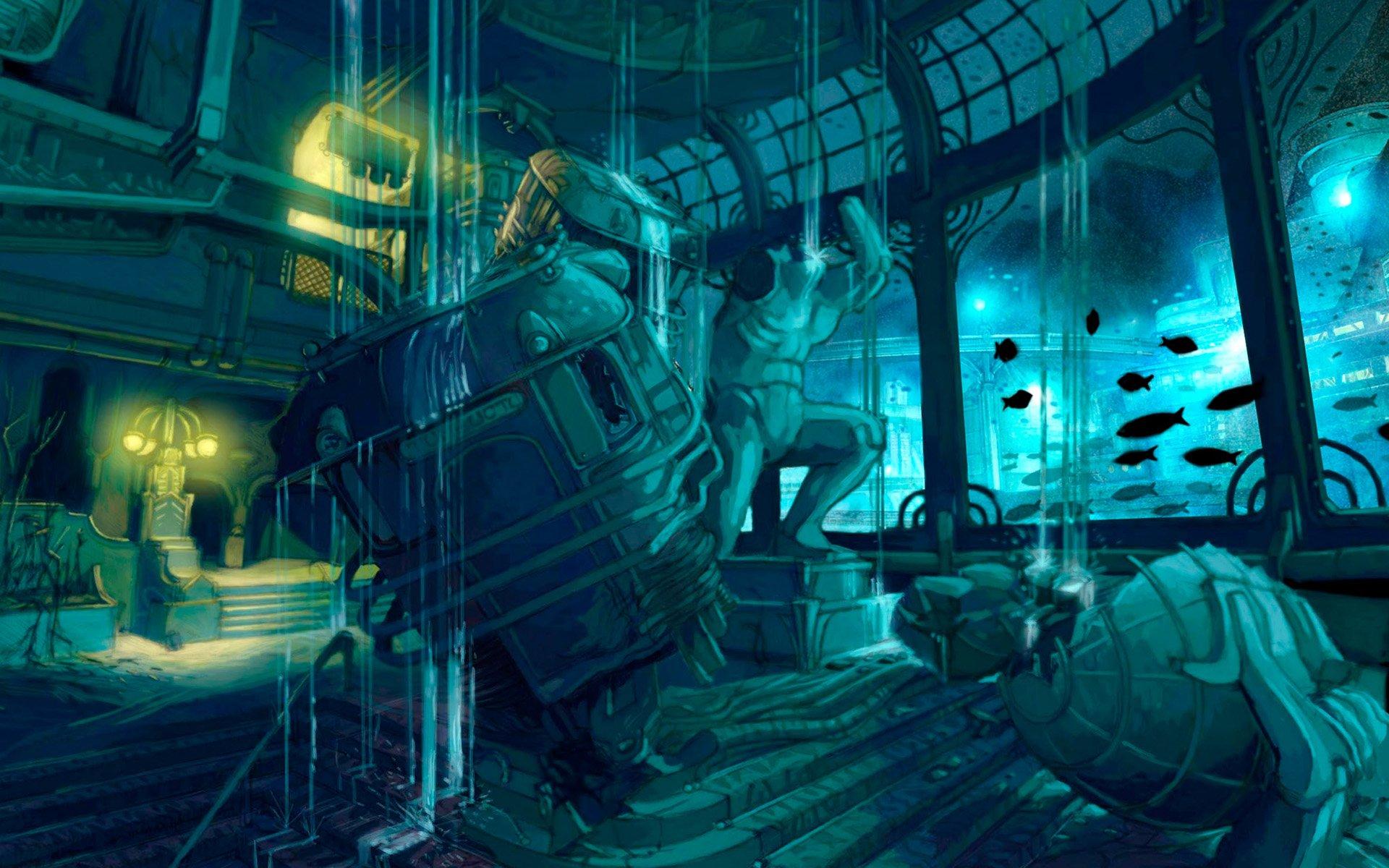 Bioshock HD Wallpaper   Background Image   1920x1200   ID ...