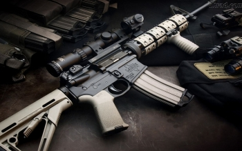 Weapons - Assault Rifle Wallpapers and Backgrounds ID : 245163