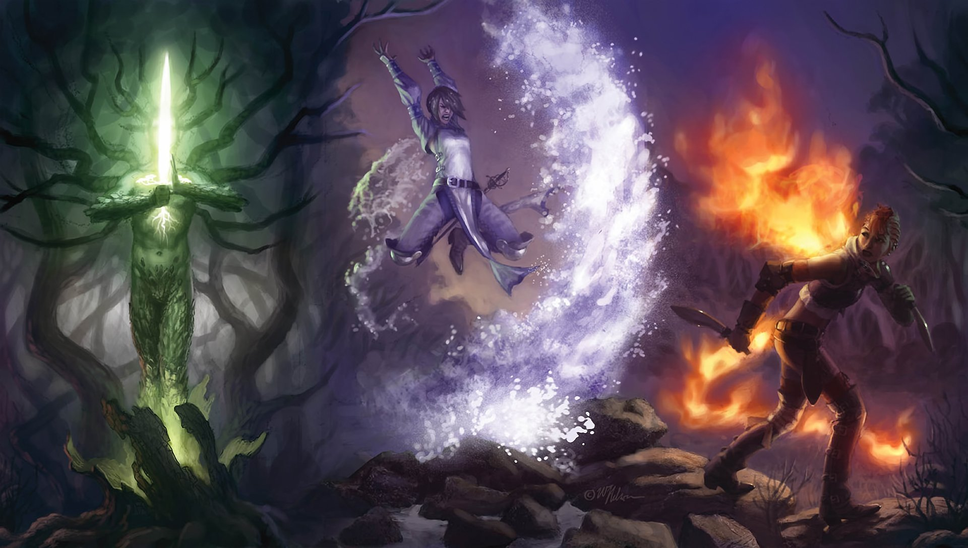 Fantasy Wizard Background 1 Hd Wallpapers: Comicon Full HD Wallpaper And Background Image