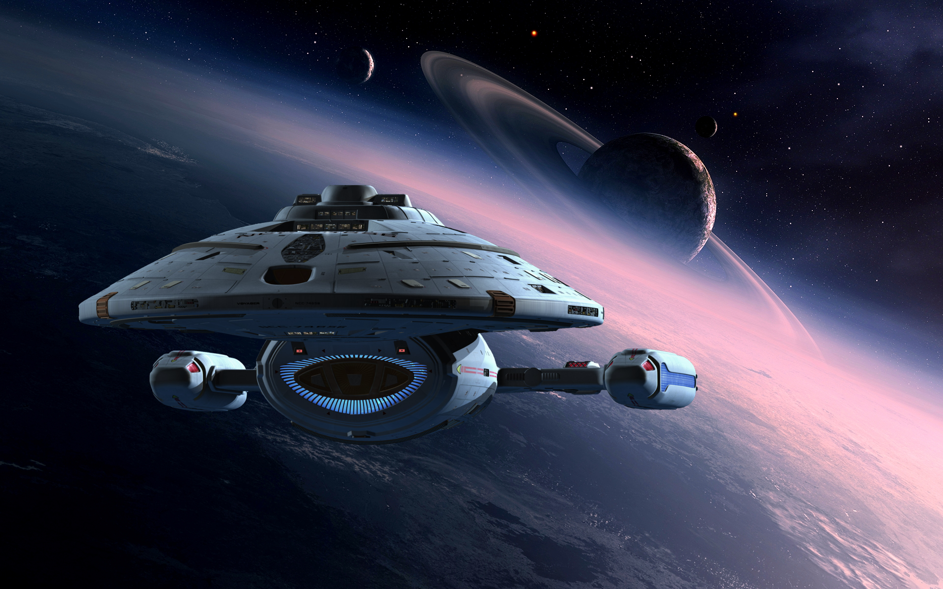 28 Star Trek Voyager Hd Wallpapers Background Images