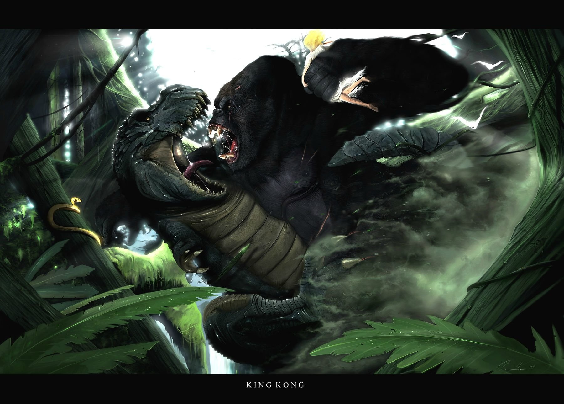 King Kong 2005 Wallpaper And Background Image