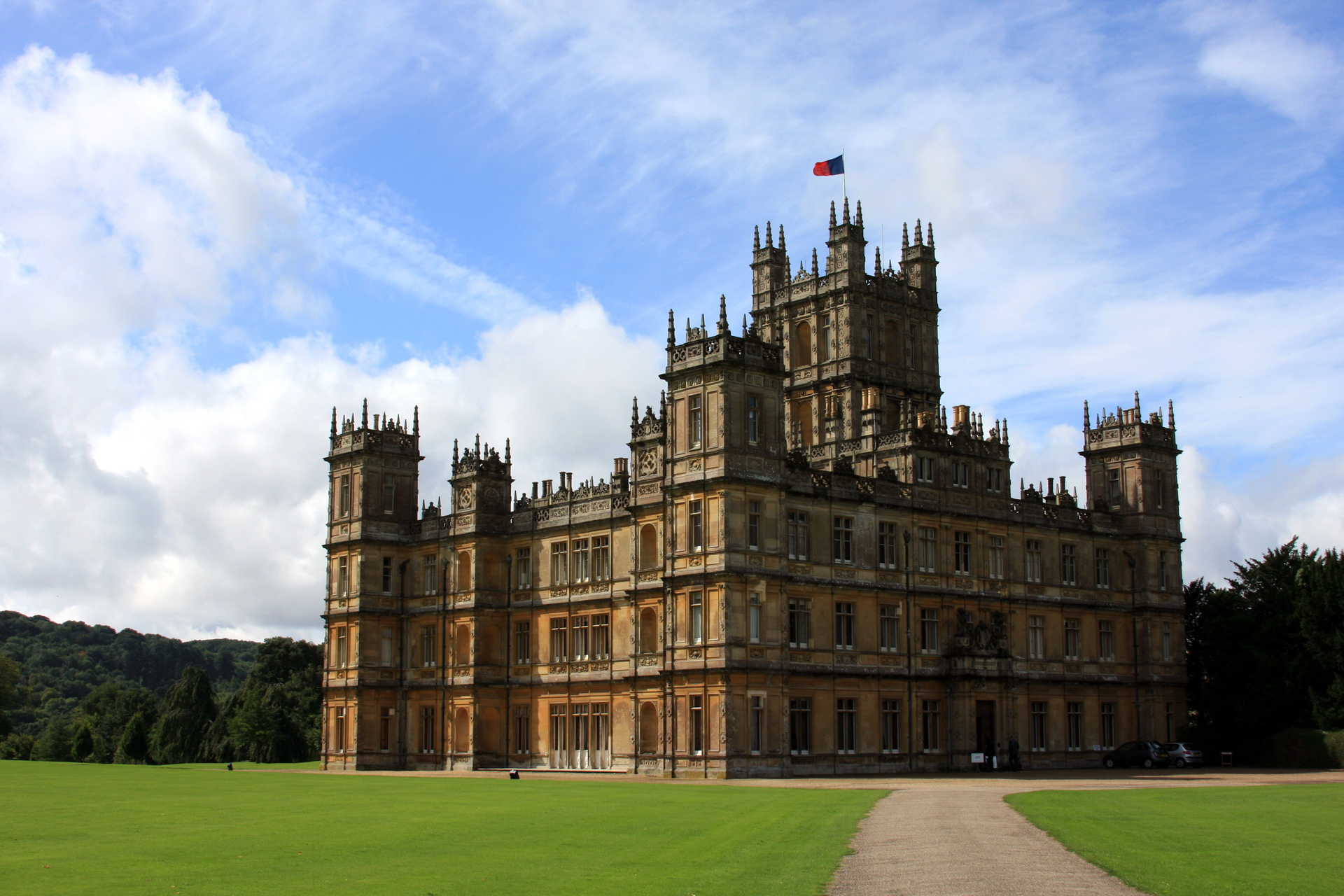 highclere castle full hd wallpaper and background | 1920x1280 | id