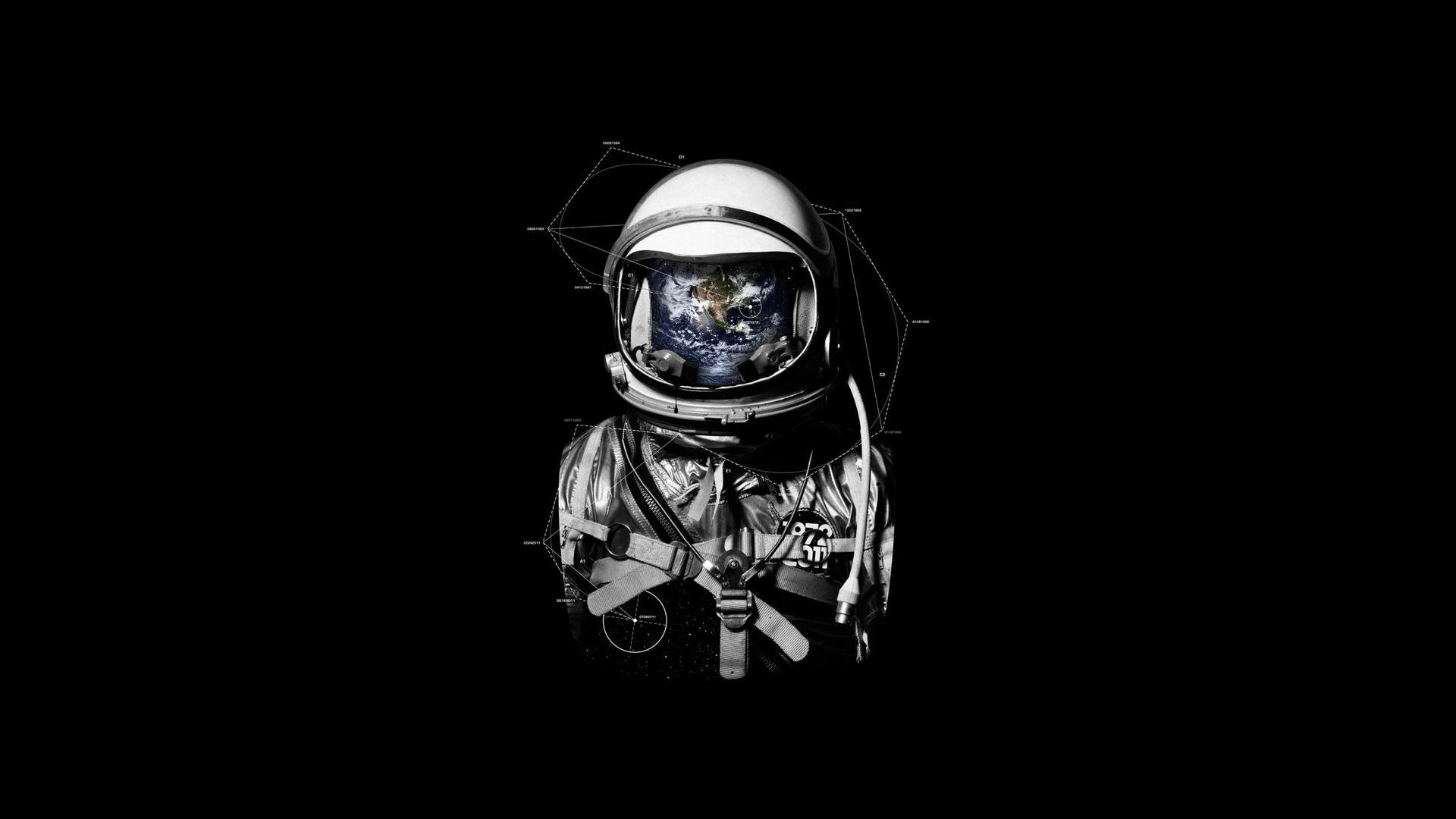 Sci Fi - Astronaut  Wallpaper