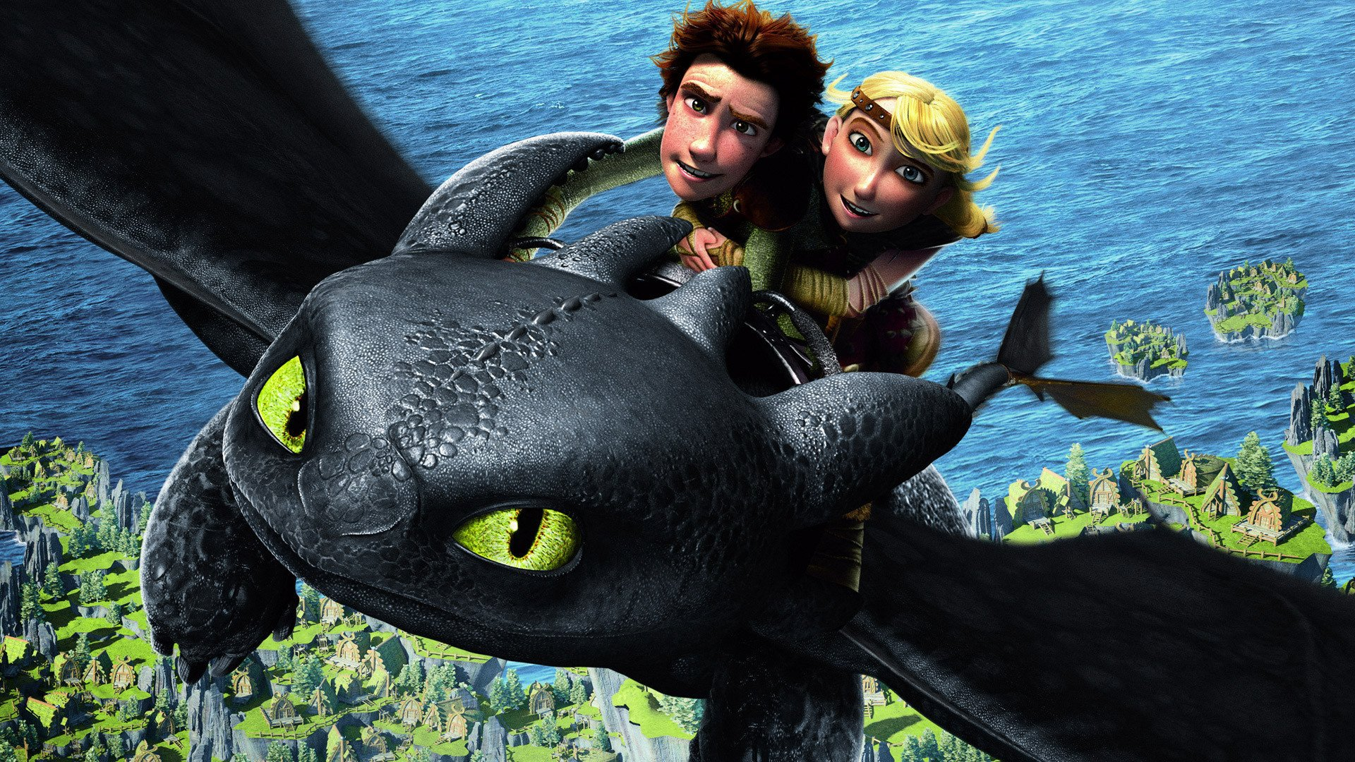 How To Train Your Dragon Full HD Wallpaper And Background Image