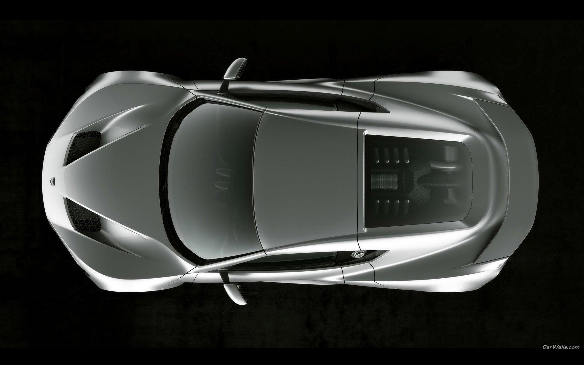座驾 - Zenvo ST1  Silver Car 汽车 交通工具 Supercar Zenvo 壁纸