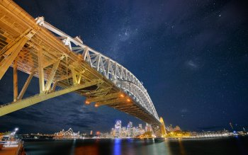 Man Made - Sydney Harbour Bridge Wallpapers and Backgrounds ID : 249141