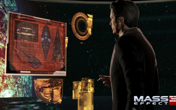 Video Game Mass Effect 3 Mass Effect Illusive Man HD Wallpaper | Background Image