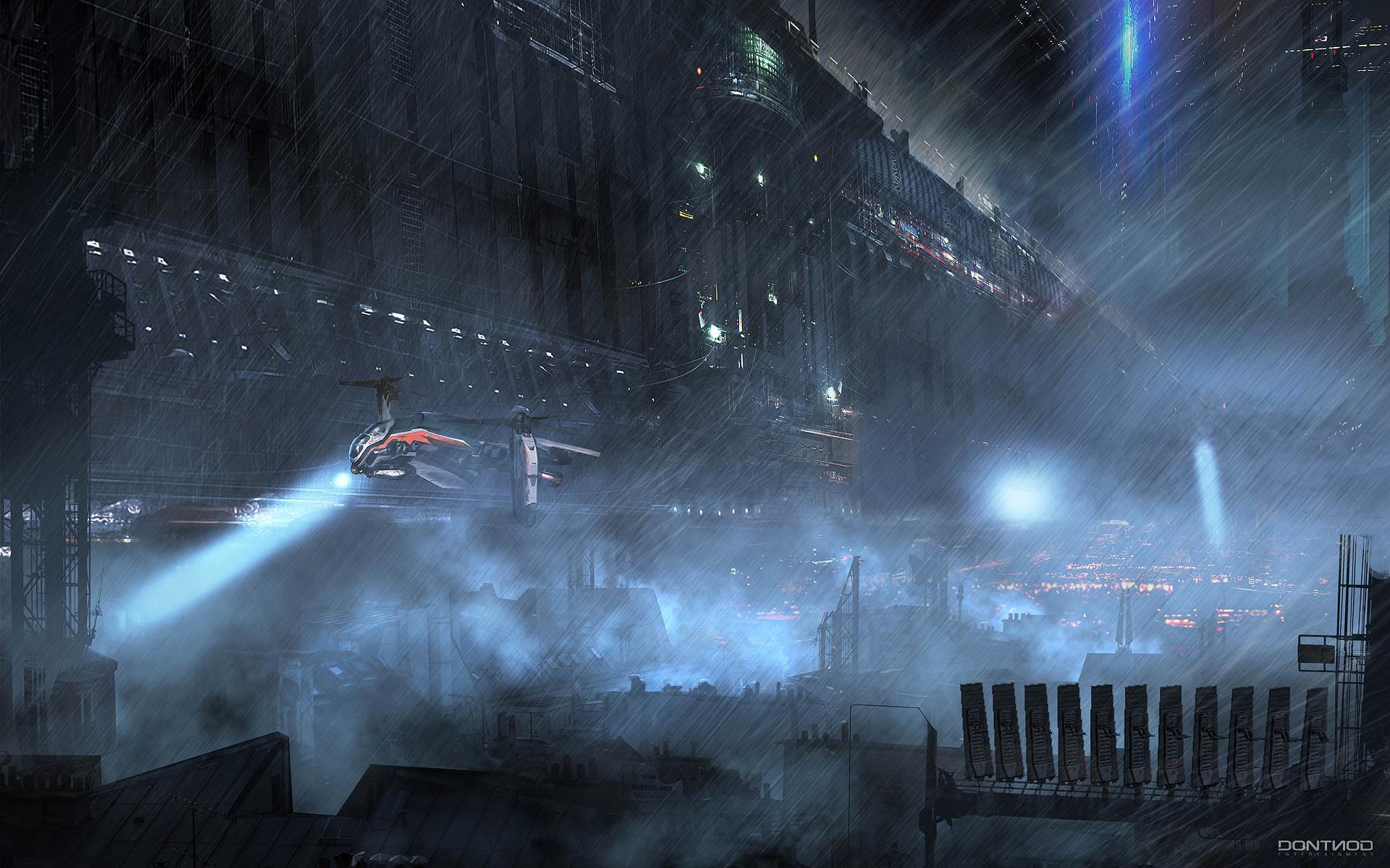 cyberpunk metropolis wallpaper - photo #40