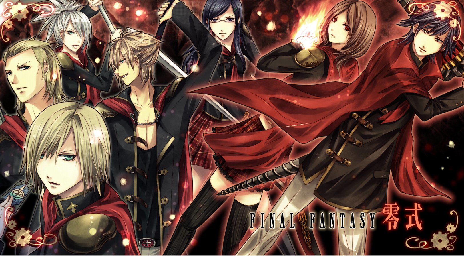 9 Final Fantasy Type 0 Hd Wallpapers Background Images