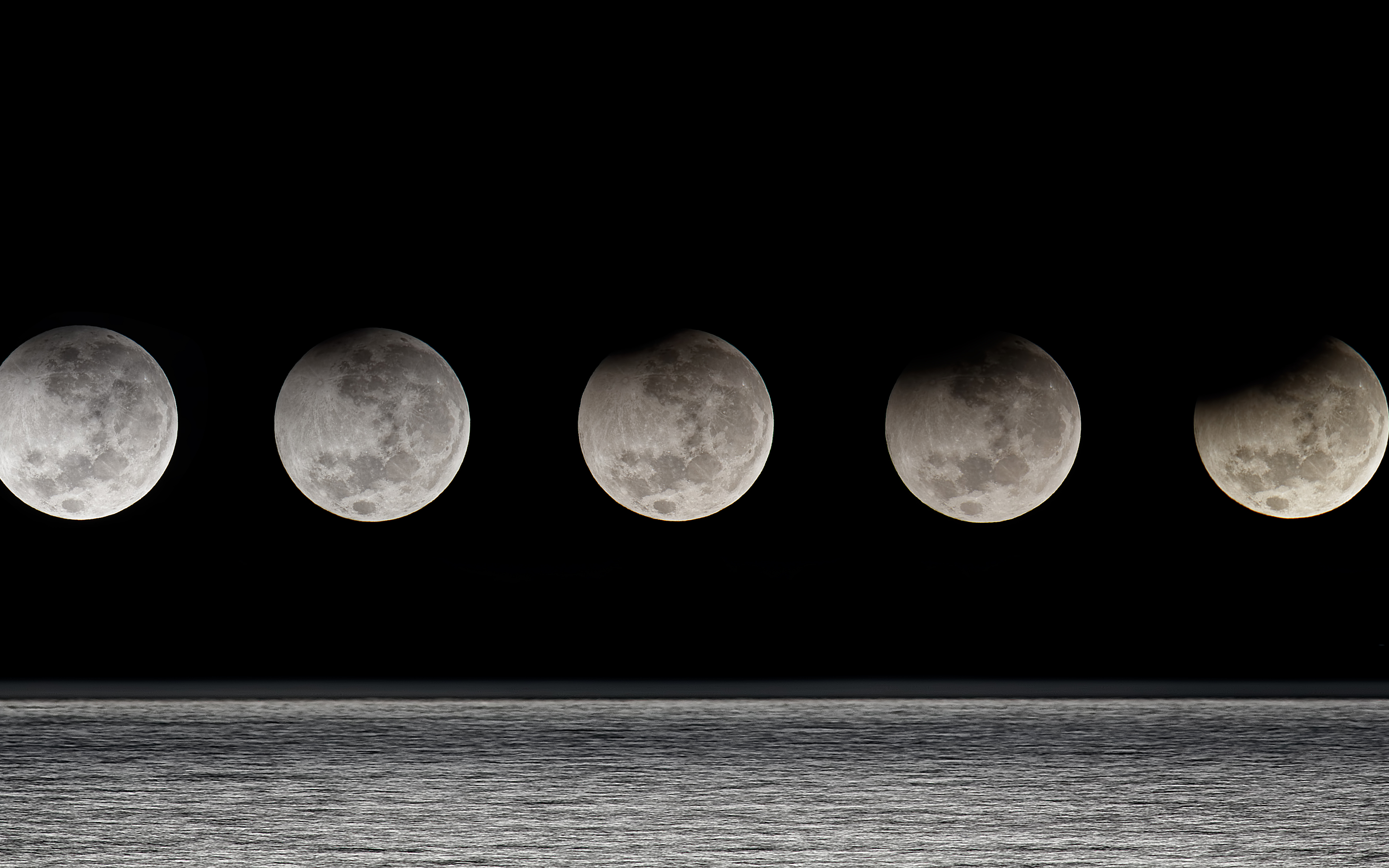 Moon phases backgrounds