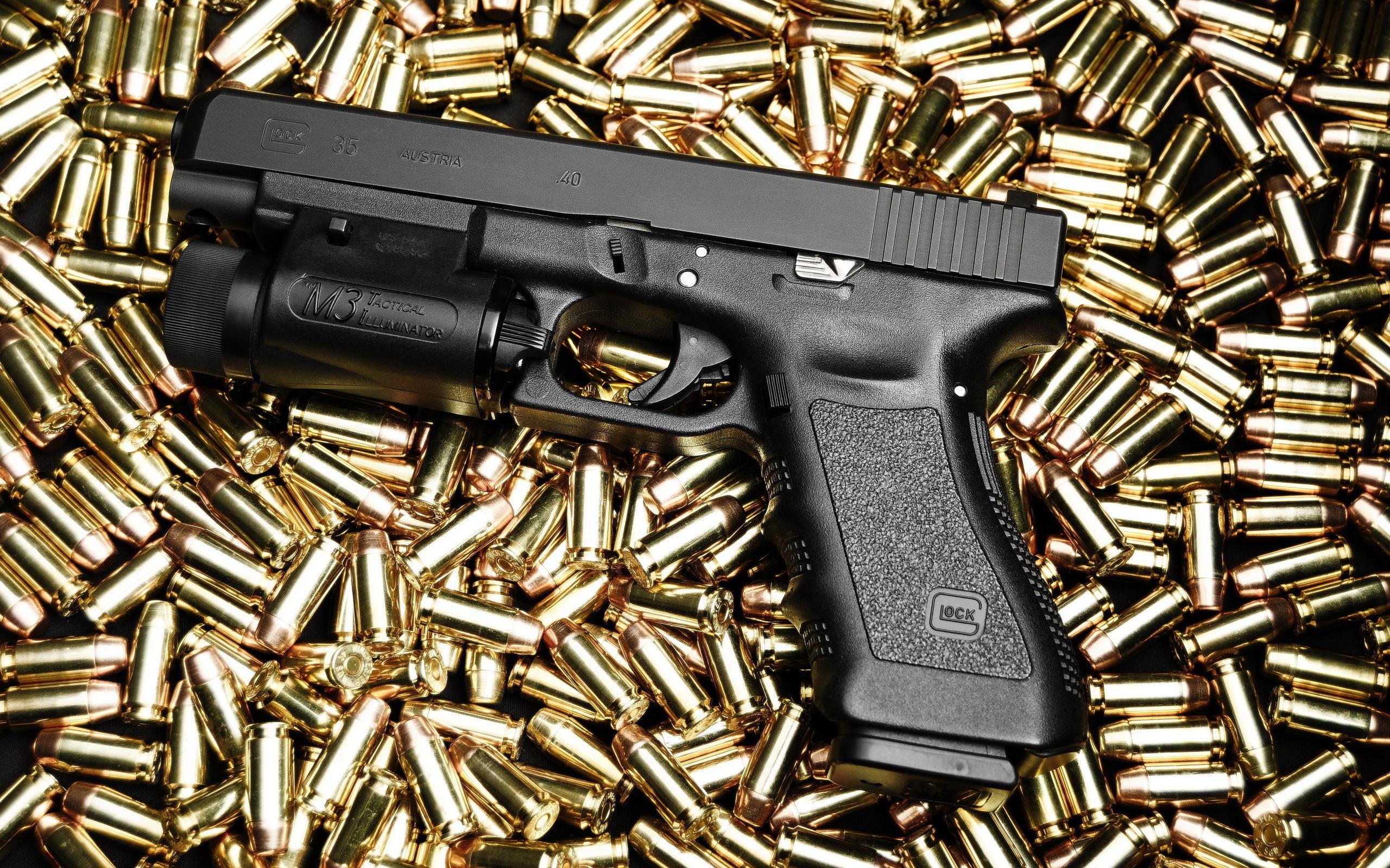 Glock 17 19 26 34 Full HD Wallpaper And