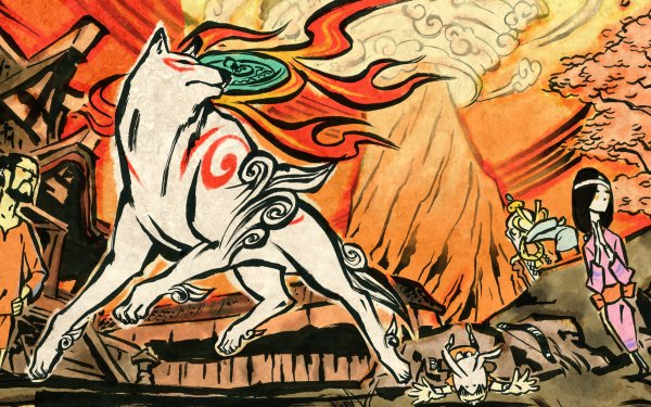 Video Game Ōkami HD Wallpaper   Background Image